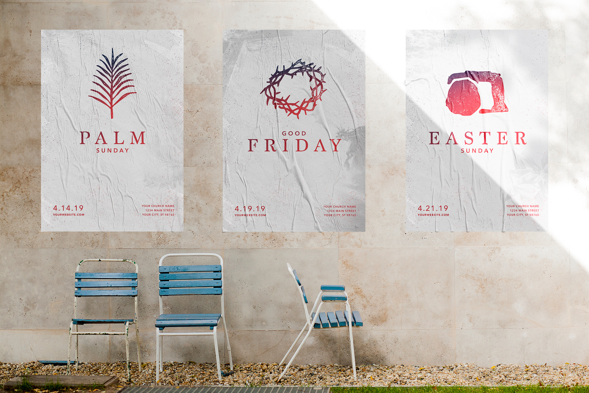 Easter Promotional Posters