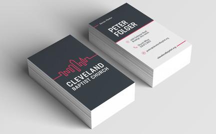 Cleveland Baptist Business Cards