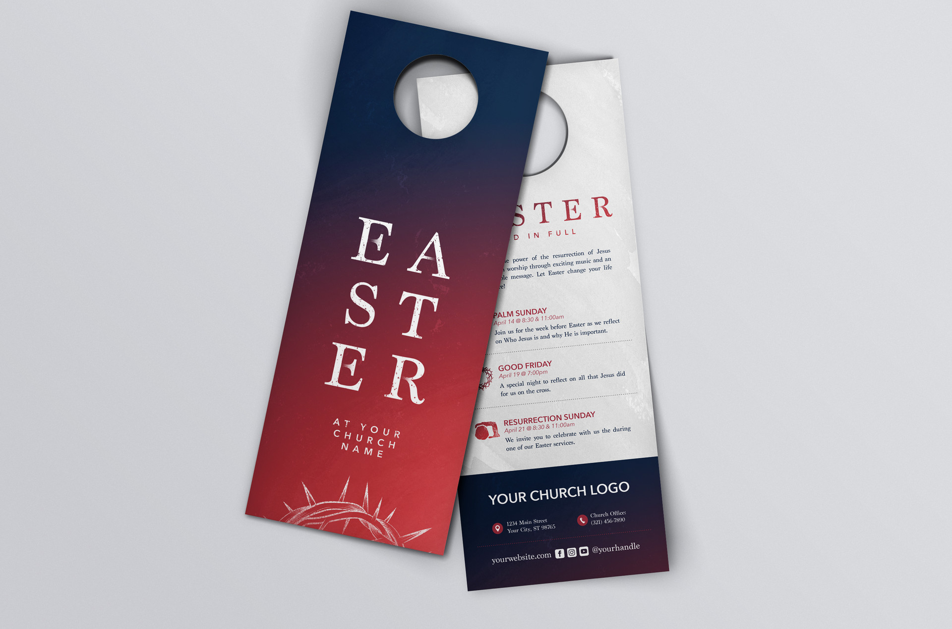 Easter Promotional Hanger