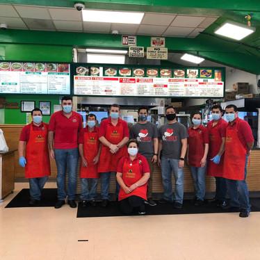 Los Pericos Restaurant Prepared Hundreds of meals