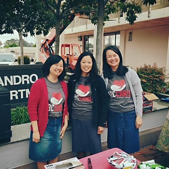 Smiling Volunteers at SLPD