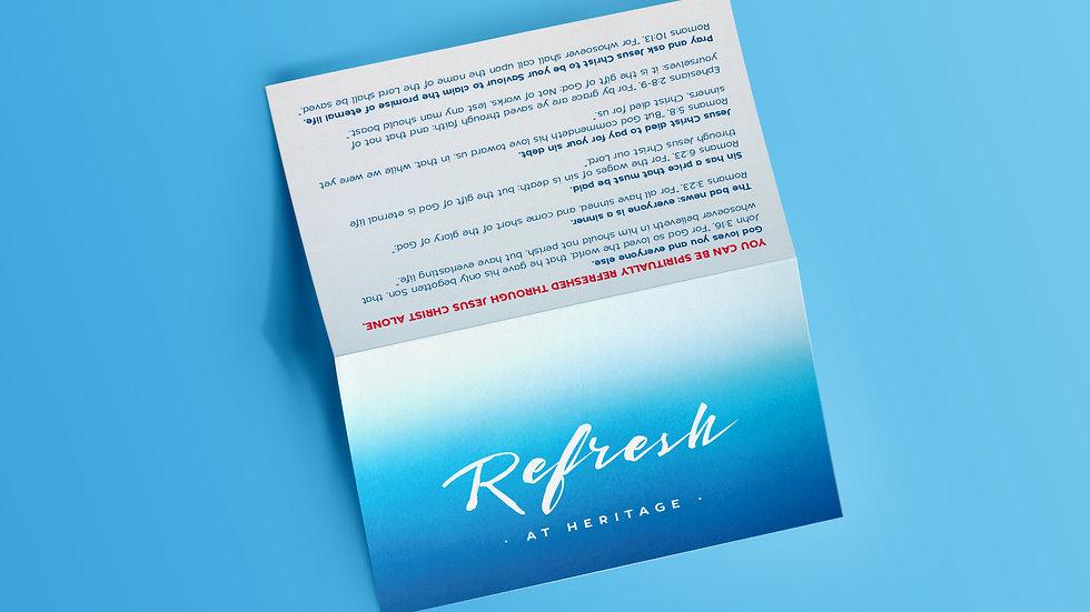 Refresh Tract