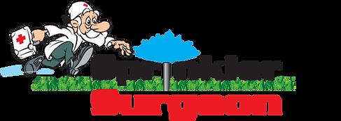 Sprinkler Surgeon Irrigation Professional Logo