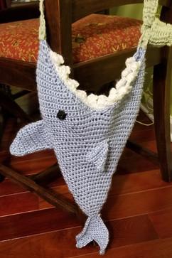 Large Shark Purse