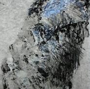 corne12, encre et pigment sur papier.