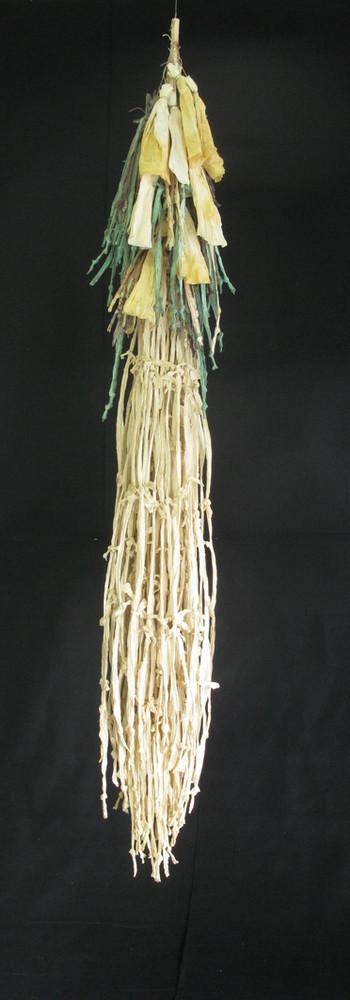 papier et cordes de papier, hauteur 183 cm