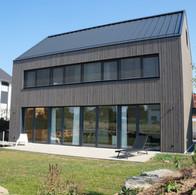 Neubau eines Wohnhauses mit Car-Port
