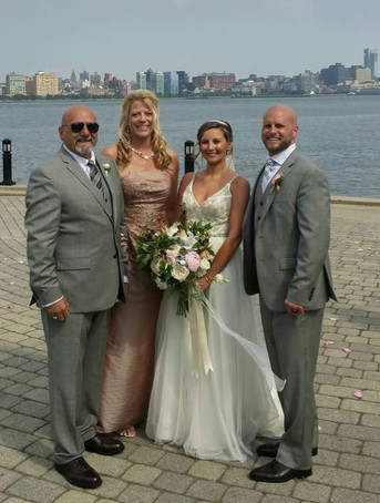 Blessed is a family Wedding