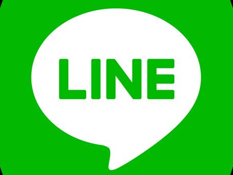 LINE公式アカウント始めました♪