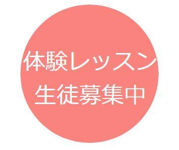 ◆オンライン体験レッスン60◆