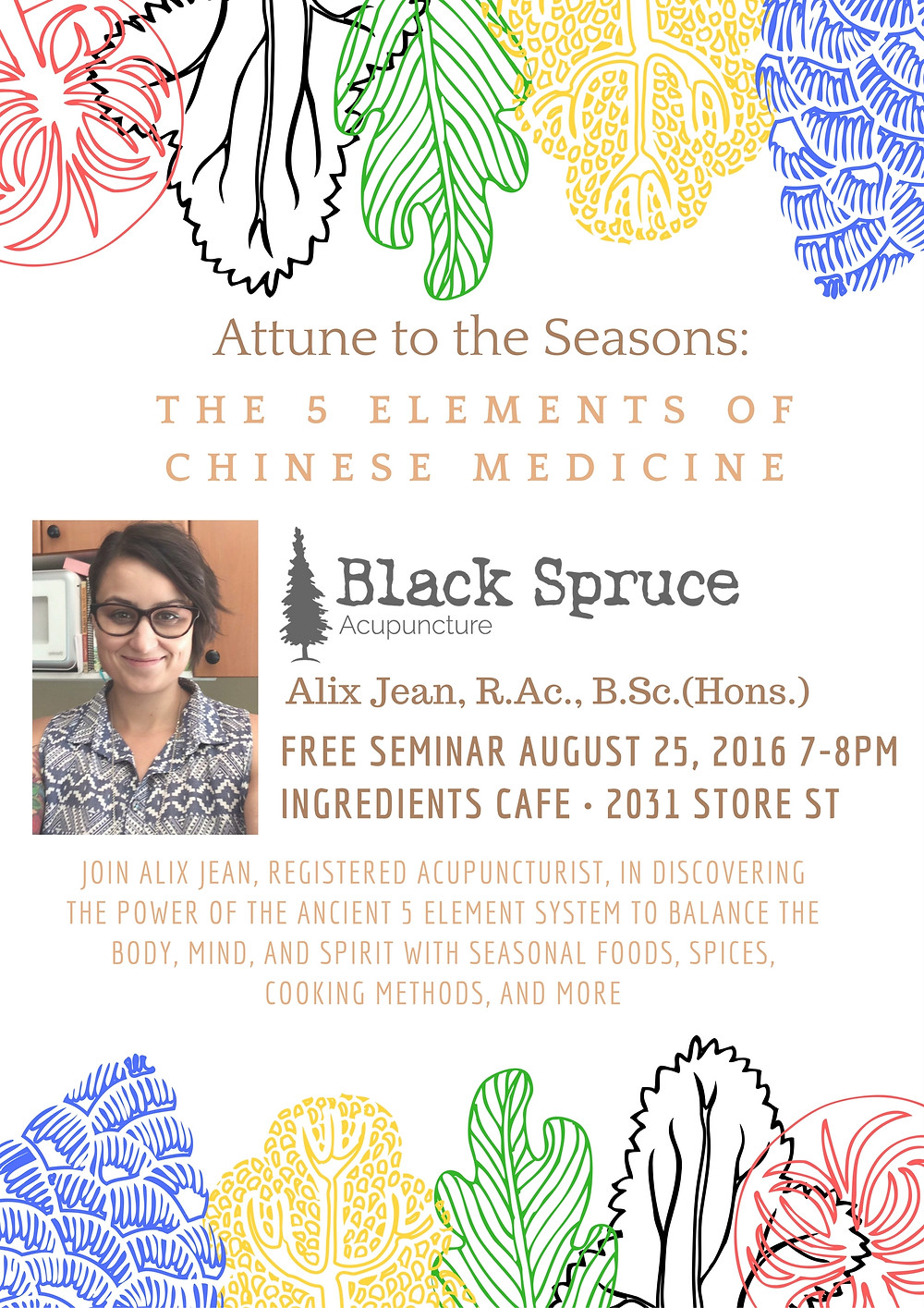 Attune to the Seasons Poster