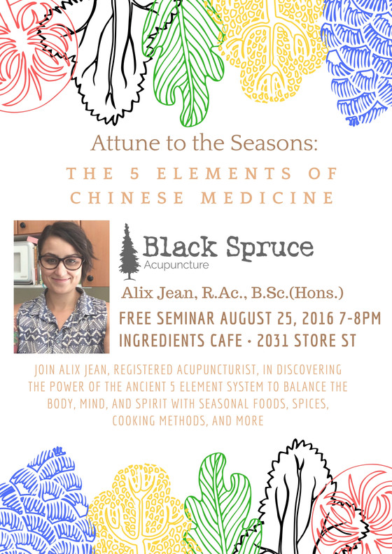 Attune to the Seasons Talk