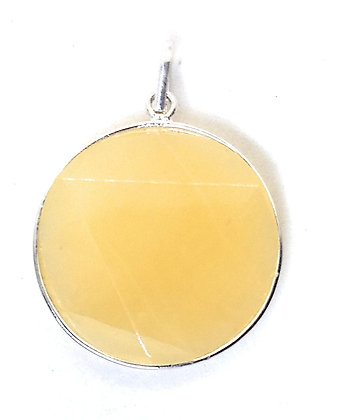 Star Of David / Six-pointed star pendant: Citrine
