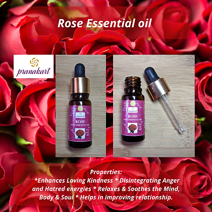Buy 2 (10ml) Rose Essential Oil