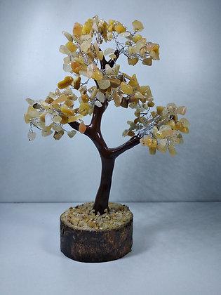 Crystal Tree: Yellow Aventurine