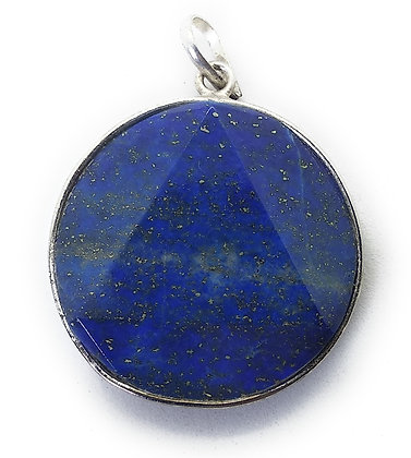 Star Of David / Six-pointed star pendant: Lapis Lazuli