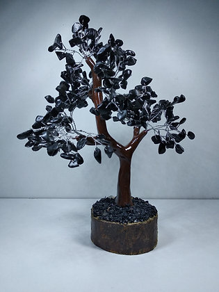Crystal Tree: Black Tourmaline