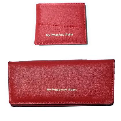 Basic Wallet + Simple Clutch