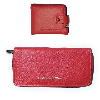 Zip Wallet + Zip Clutch