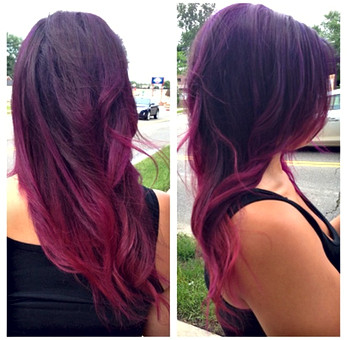 Berry Ombre