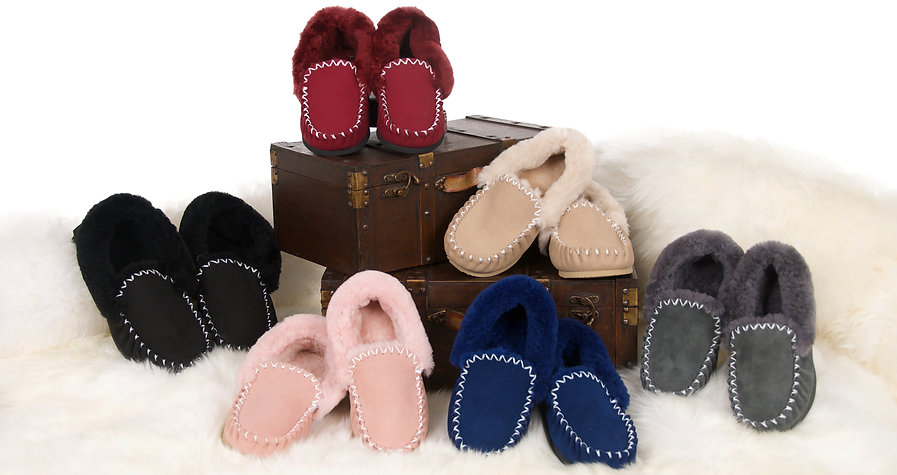 Our sheepskin moccasins are 100% Australian made and come in a great range of colours to choose from.  We sell our sheepskin mocassins both online and from our Brisbane northside warehouse.