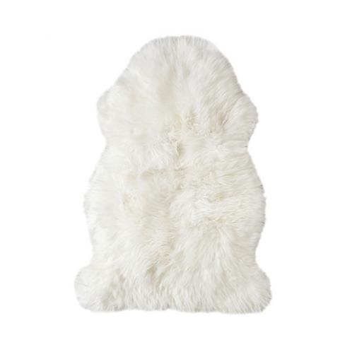 Long Wool Sheepskin Rug  -  Single
