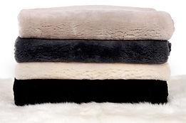 Sheepskin wool plates