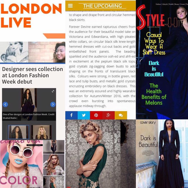A few press over the past months #london