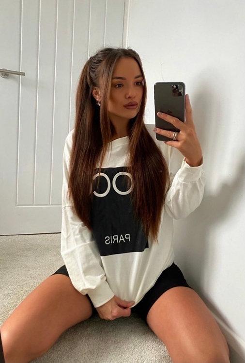 Coco Print Sweatshirt/Dress