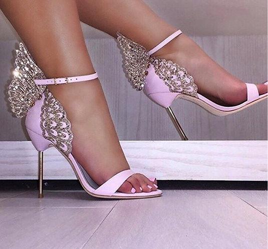 Butterfly Open Toe Thin Sandals