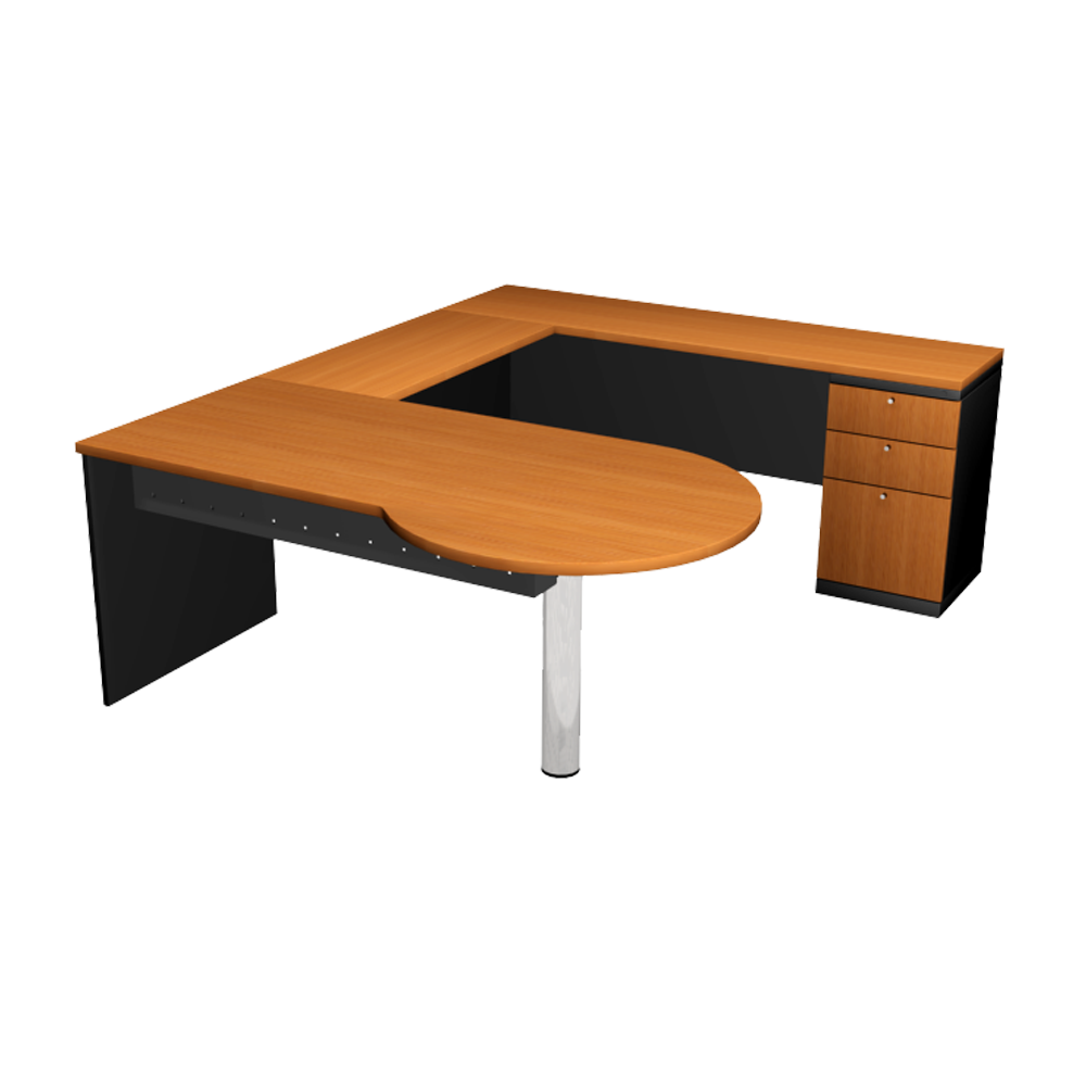 P- SHAPE - EXECUTIVE TABLE