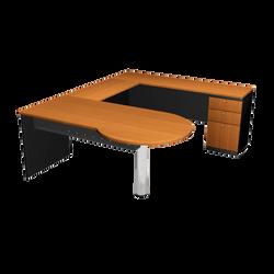 P- SHAPE - EXECUTIVE TABLE