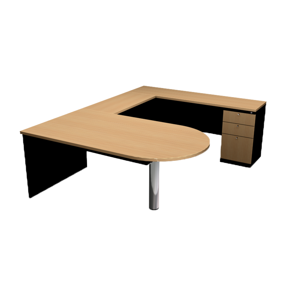 U- SHAPE- EXECUTIVE TABLE