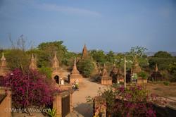 Temples dot the landscape