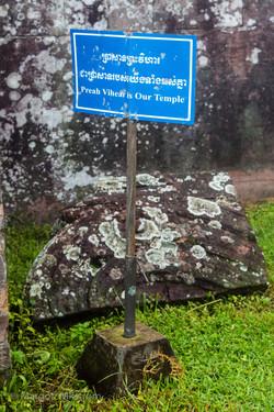 Preah Vihear temple is Cambodia's