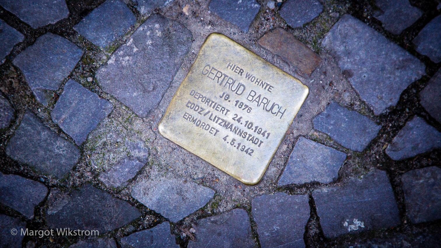 'Stumbling Stone'