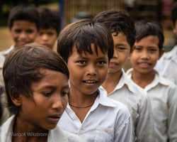 Local school children
