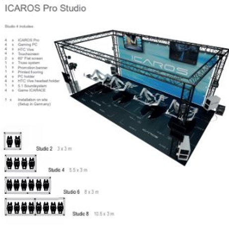 Icaros Pro Studio 2