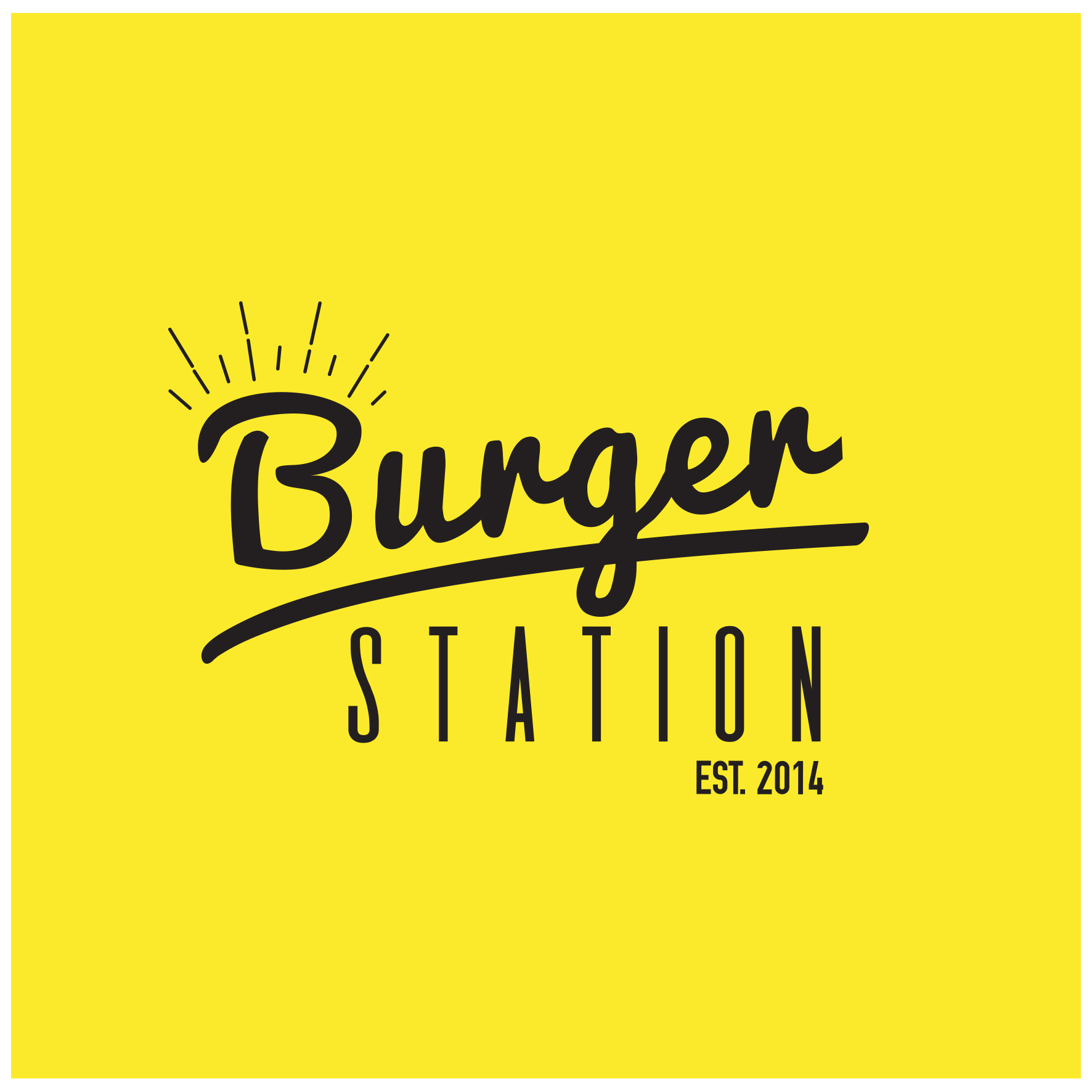 Diseño de logotipo Burger Station