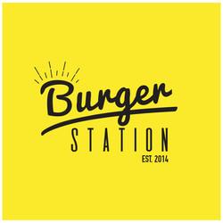 Diseño de logotipo Burger Station