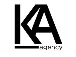 Diseño de logotipo KA Agency