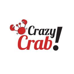 Diseño de logotipoCrazy Crab