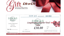 Gift Vouchers For Family & Friends