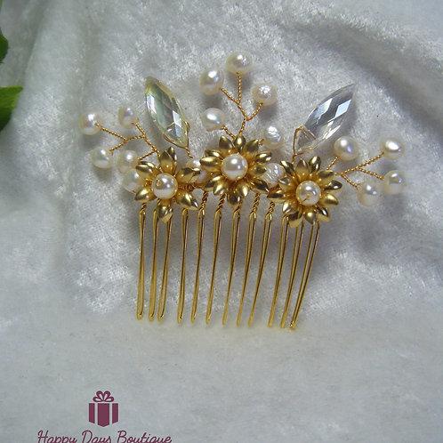 Hair Comb - Sunflower