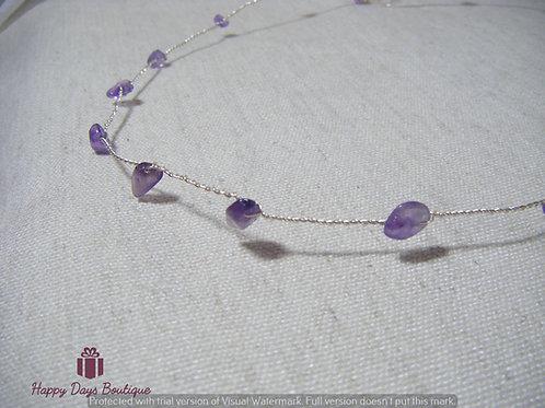 Purple Amethyst Brow Band