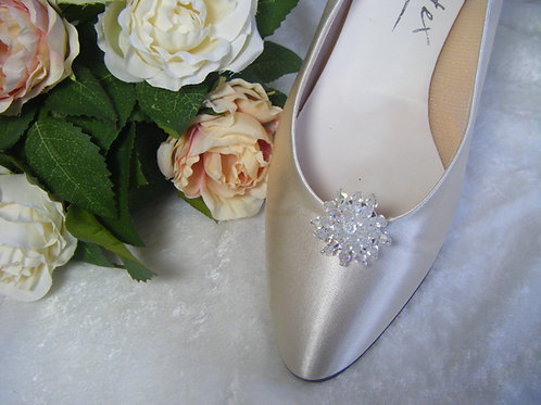 Swarovski Crystal Shoe Clips
