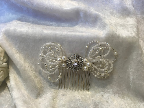 Diamante Hair Comb