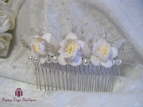 Hair Comb -Cherry Blossom