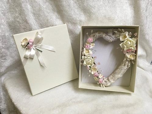 Heart Wedding Gift - range of colours