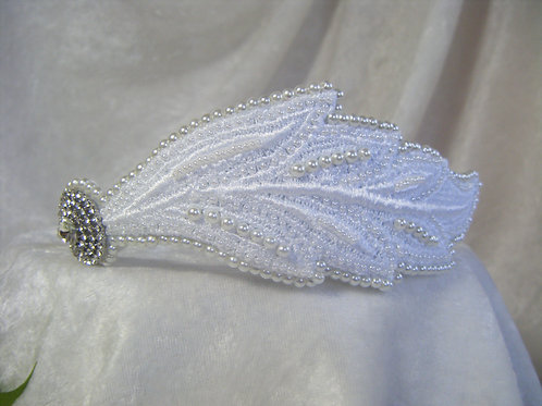 Beaded Side Headband